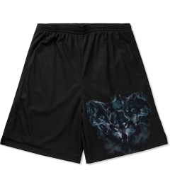 Raised by Wolves Black Wolfpack Basketball Shorts Picutre
