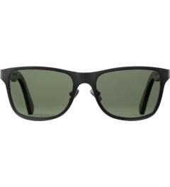 Shwood Gun Metal Titanium/Walnut Canby: G15 Polarized Sunglasses Picutre