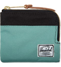 Herschel Supply Co. Seafoam/Black Johnny Wallet Picutre