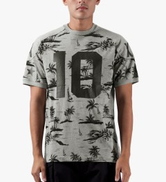 10.Deep Heather Grey J. Brown Jersey T-Shirt Model Picutre