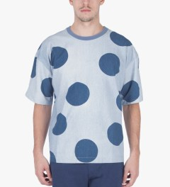 P.A.M. Magnetic Dots Hot Polke Oversized T-Shirt Model Picutre