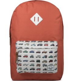 Herschel Supply Co. Synchro Red/Rad Cars Heritage Backpack Picutre