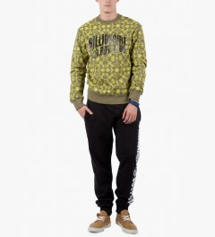 Billionaire Boys Club Dusky Green L/S Counter Measures Sweater Model Picutre
