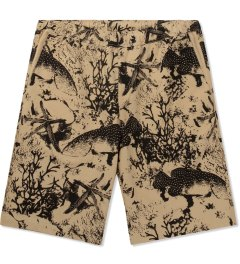ONLY Khaki Under The Sea Beach Shorts Picutre