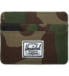 Herschel Supply Co. Woodland Camo Charlie Cardcase Picutre
