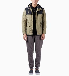 HUF Tan The Summit Jacket Model Picutre