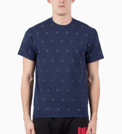 ICNY Blue Polka Dot 3M Reflective T-Shirt Model Picutre