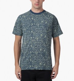 10.Deep Dark Blue Sangoma T-Shirt Model Picutre