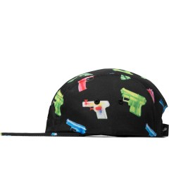 Primitive Black Soaked 5-Panel Cap Model Picutre