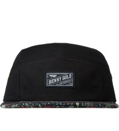 Benny Gold Black Dolores Floral Bill 5 Panel Hat Picutre