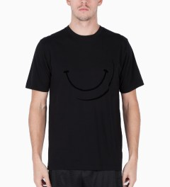 P.A.M. Black Smiley T-Shirt Model Picutre