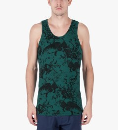 ONLY Dark Sea Green Under The Sea Tank Top Model Picutre