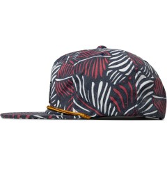 The Hundreds Navy Case Snapback Cap Model Picutre