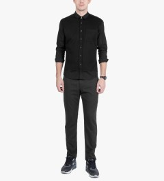 Surface to Air Black Belmont Trousers Model Picutre