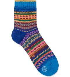 CHUP Blue Rabinal Socks Picutre