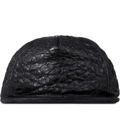 Stampd Black Luxury Embossed Lambskin Snapback Picutre
