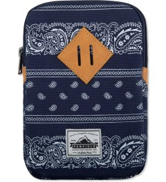 Penfield Navy Paisley Clearway Ipad Mini Case Picutre