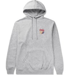ONLY Heather Grey Trainer Pullover Hoodie Picutre