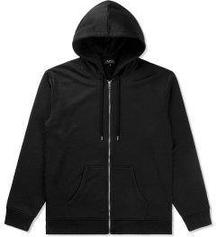 A.P.C. Noir Sweat Champion Zipped Hoodie Picutre