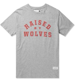 Raised by Wolves Heather Grey College T-Shirt Picutre