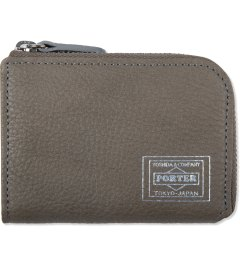 Head Porter Grey Calvi Coin Wallet Picutre