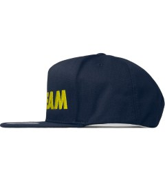ICECREAM Navy Ice Logo Cap Model Picutre