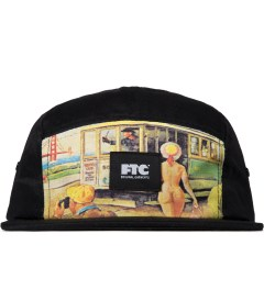 FTC Black Greeting Camp Cap Picutre