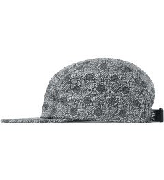 HUF Liberty x HUF Black Achilles Volley Cap Model Picutre