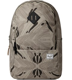 Herschel Supply Co. Geo/Black/Black Rubber Nelson Backpack Picutre