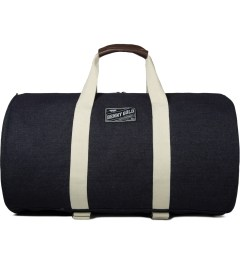 Benny Gold Indigo Denim Large Travel Duffle Bag Picutre
