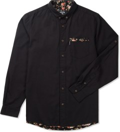 Grand Scheme Black Edinburgh Trim L/S Shirt Picutre