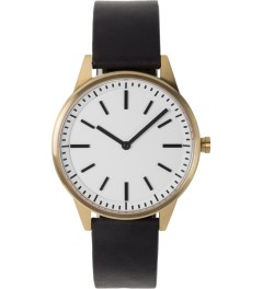 Uniform Wares PVD Satin Gold / Black 250 Series Wristwatch Picutre