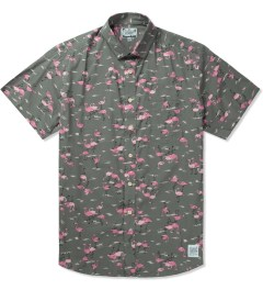 Grind London Grey Flamingo S/S Shirt Picutre
