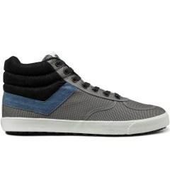 PONY Mid Grey/Blue Slamdunk VULC Hi Sneakers Picutre