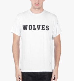 Raised by Wolves White Wolve's II T-Shirt Model Picutre