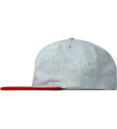 The Hundreds Red Hill Snapback Model Picutre