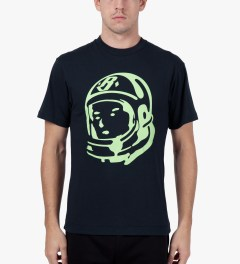 Billionaire Boys Club Peacoat/Paradise Green S/S Helmet T-Shirt Model Picutre