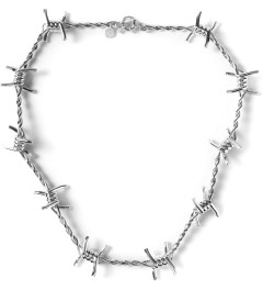 AMBUSH® Silver Classic Chain 3 Necklace Picutre