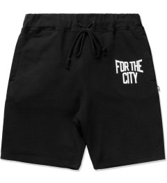 "FTC Black ""For The City"" Sweatshorts Picutre"