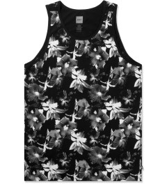 HUF Black/White Floral Tank Top Picutre