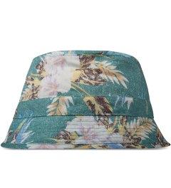 BWGH Green Floral Print Bob Bucket Hat Picutre