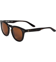 Stussy Dark Tortoise / Brown Luigi Sunglasses Model Picutre