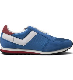 PONY Strongblue/Whtie Joggy Ox Nylon Sneakers Picutre