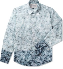 Casely Hayford Broken Ice Print Stanway Soft Collar Shirt Picutre