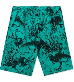 ONLY Teal Under The Sea Beach Shorts Picutre