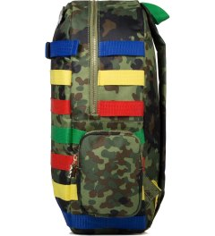Dee & Ricky Camo Give Backpack Model Picutre