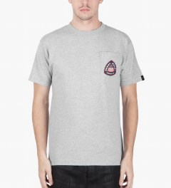 Benny Gold Heather Grey Airborne Div. T-Shirt Model Picutre