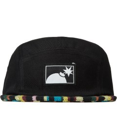 The Hundreds Black Guide 5-Panel Cap Picutre