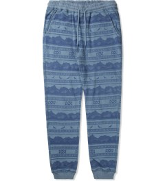Staple Indigo Badlands Sweatpants Picutre