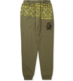 Billionaire Boys Club Dusky Green Fantail Sweatpant Picutre